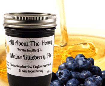 Maine Blueberry Pie Jam