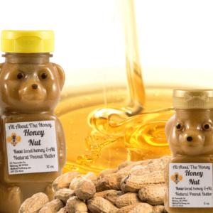 Honey Nut Raw Local Honey and Peanut Butter